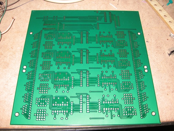 Bottom of the PCB